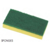Combination Sponge and Nylon Pad