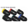 "Floor Drain Brushes (White/Black, 3"")"