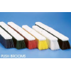 "Push Brooms - Heavy Sweeping (White, Polypropylene, 18"")"