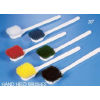 "Pot and Churn Brushes - Polyester (Yellow, 8 1/2"")"