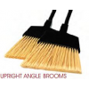 Upright Brooms (Black, Flagged)